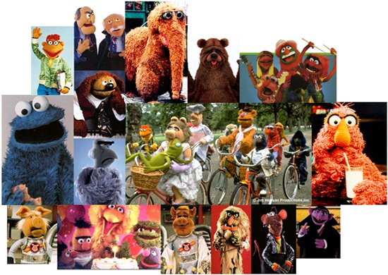 THE MUPPETS use IRV