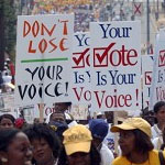 March for CA Voting Rights Act