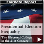 Presidential Elections Inequality Report