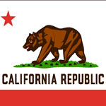 A picture of the California State Flag