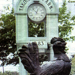 Takoma Park Clock and Rooster