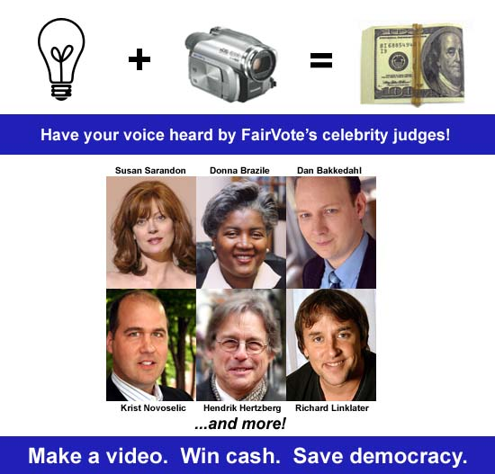 FairVote's Upgrade Democracy Video Contest